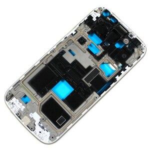 Image 4 - Nowy pełny zestaw do Samsung Galaxy S4 mini i9190 i9192 i9195 obudowa Case + środkowa rama + tylna pokrywa + szkło przednie + klej + narzędzia