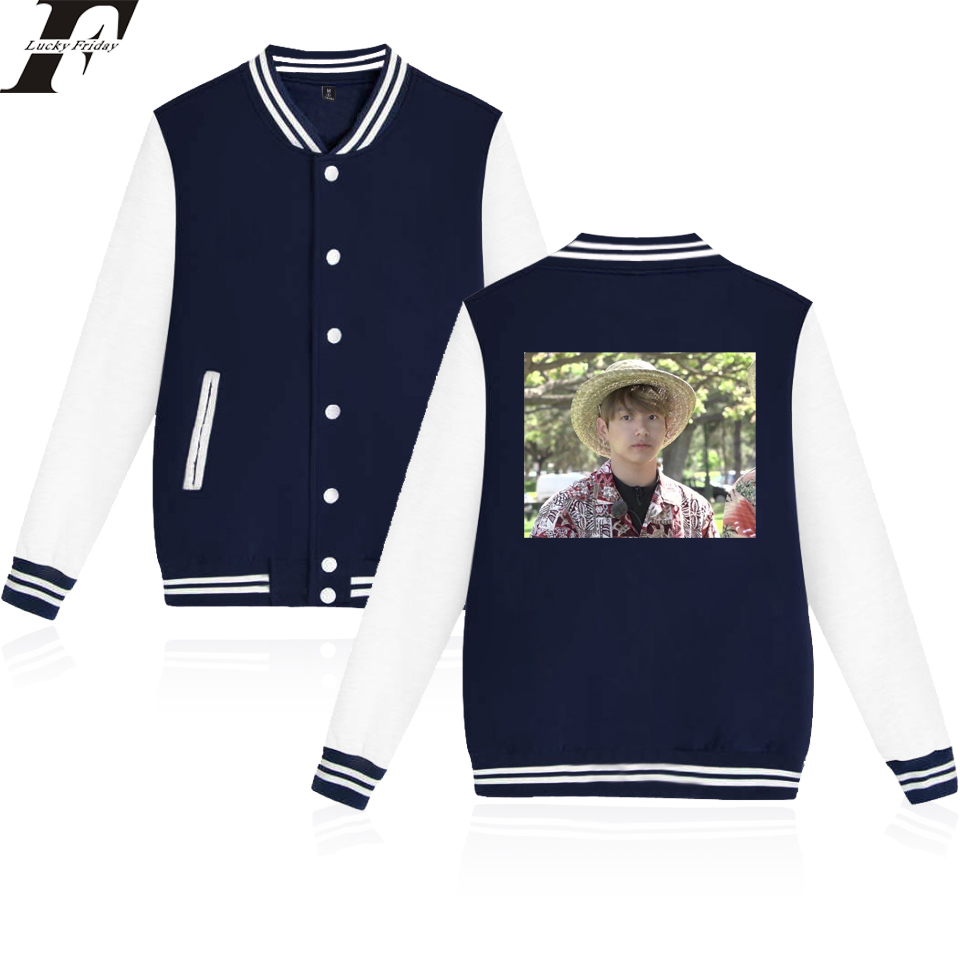 BTS Kpop Jungkook Hawaii Baseball Jacket Men/Women Kpop Casual Coats Jacket Cool And Fashion Style Clothes