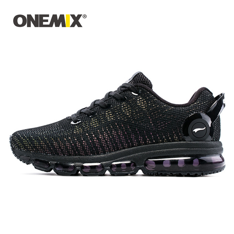 ONEMIX Running Shoes For Men Sports Sneakers For Women Reflective Mesh Vamp Sneakers For Outdoor Sports