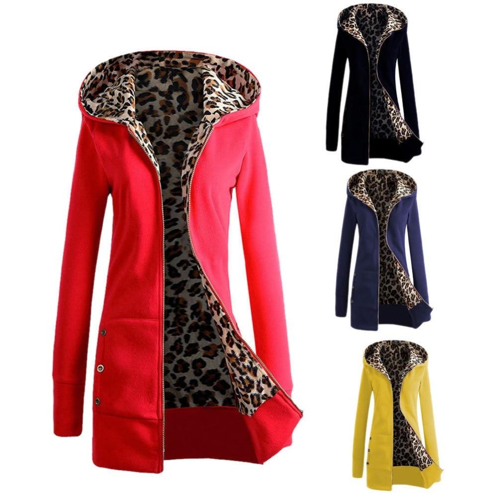 M 3XL Women s Warm Winter Hooded Parka Coat Overcoat Long Jacket Outwear Hot Black Red