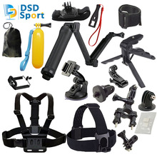 DSD TECH for gopro 4 Hand Grip and Tabletop Tripod GoPro Camera for go pro 5 4 3+3 sjcam sj5000 sj4000 xiaomiyi 2k eken h9 08F