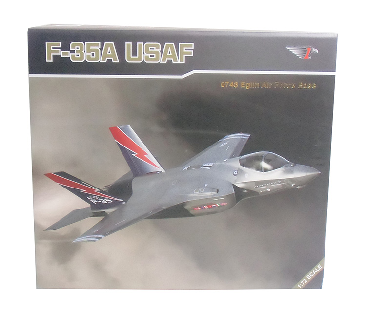 US $74 21 15% OFF|1/72 Scale Airplane Model USAF F 35A F35B F35C Lightning  II Joint Strike Fighter Diecast Metal Plane Model Toy For Kids Gift-in
