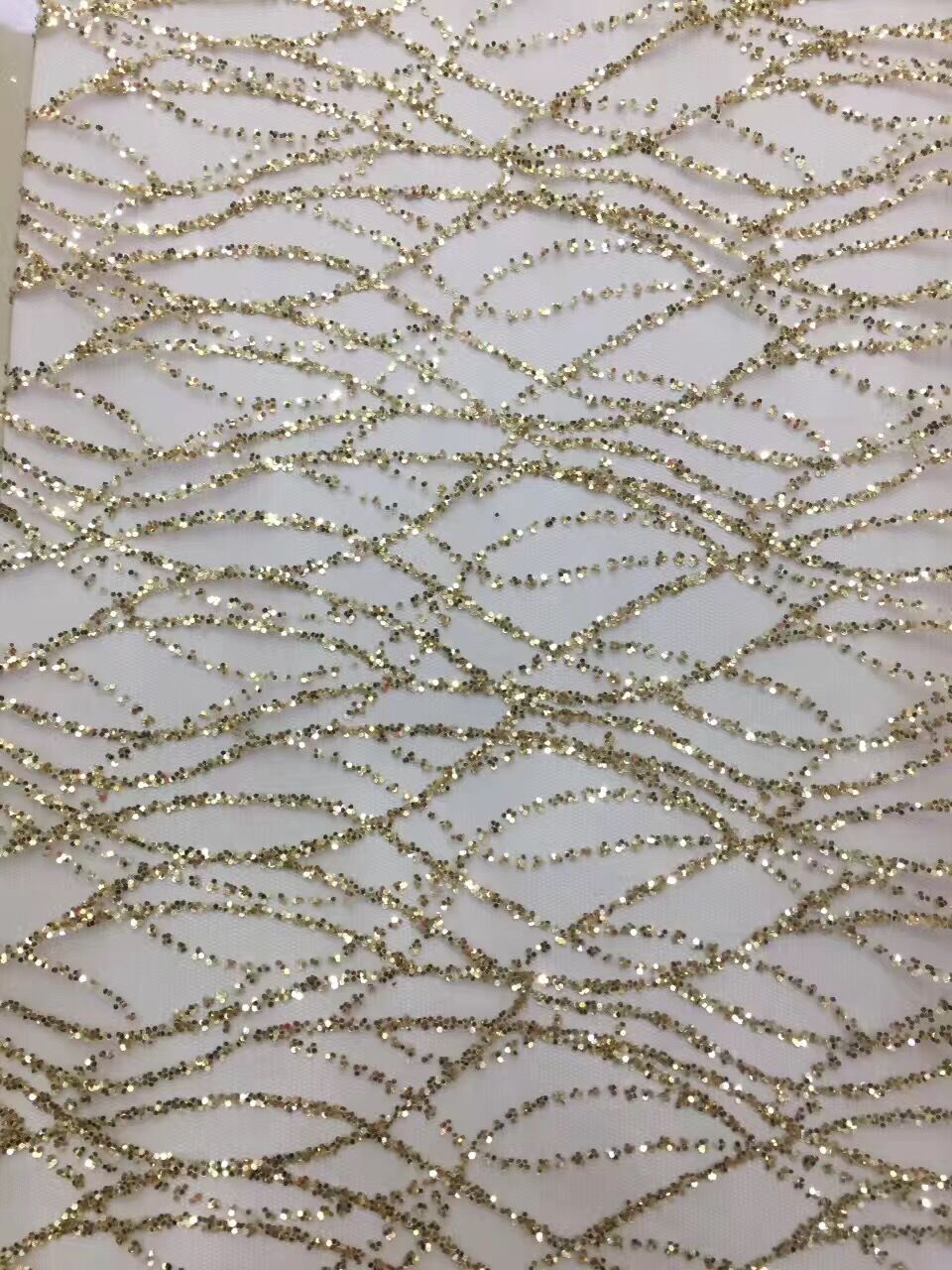 jianxi 32715 on sale glitter lace fabric best quality glitter Sequins lace african lace fabric for
