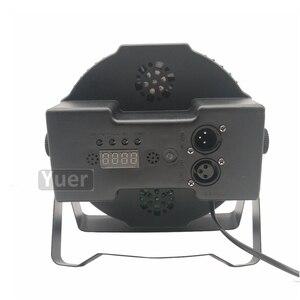 Image 5 - 10 sztuk/partia LED płaskie Par 36x3W RGB 3w1 oświetlenie profesjonalne LED etap światła efekt DMX512 Master Slave DJ Disco wesele