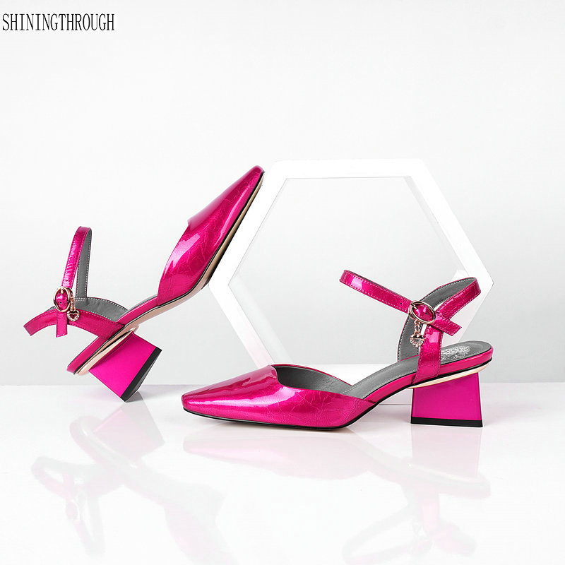 695a499b210bc New Women Sandals 2019 Fashion Ankle-Strap High Heel Sexy Platform Wedding  Party Shoes Woman Summer Sandals - aliexpress.com - imall.com
