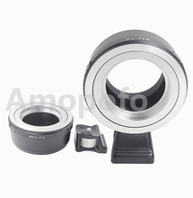 Amopofo M42-FX Short Tripod Adapter, M42 Screw Mount Lens to Fujifilm X-Pro1 X-E1 E2 X-A Camera Adapter