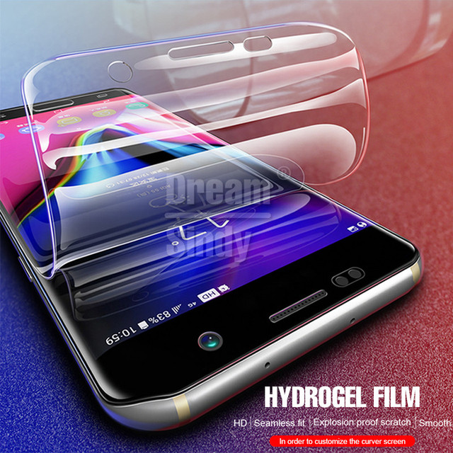 Full Cover Hydrogel Film For Samsung Galaxy S9 S8 PLus Screen Protector For Samsung S7 S6 Edge Note 8 Protective Film Not Glass 1