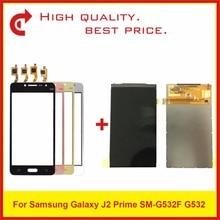 """Высокое Качество 5,0 """"для Samsung Galaxy J2 Prime SM G532 G532 ЖК дисплей с сенсорным экраном дигитайзер Сенсорная панель + отслеживание"""