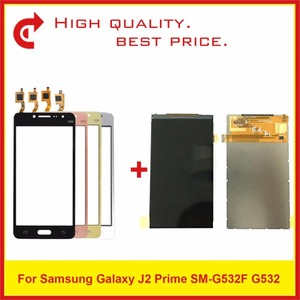 """Image 1 - High Quality 5.0"""" For Samsung Galaxy J2 Prime SM G532 G532 LCD Display With Touch Screen Digitizer Sensor Panel+Tracking"""