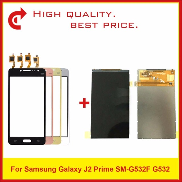 """High Quality 5.0"""" For Samsung Galaxy J2 Prime SM G532 G532 LCD Display With Touch Screen Digitizer Sensor Panel+Tracking"""