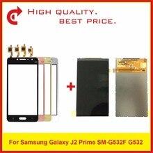 "Yüksek Kalite 5.0 ""Samsung Galaxy J2 Başbakan SM G532 G532 lcd ekran Ile dokunmatik ekran digitizer sensör paneli Takip"