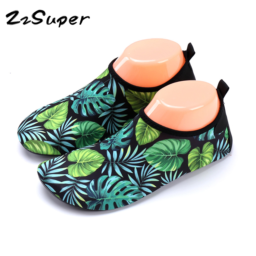 Children Adult Slippers Breathable Comfortable Socks Quick Dry Kids Shoes Anti-slip Diving Sock Water Sports Beach Socks Fins