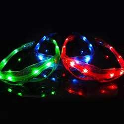 Человек-паук светящиеся очки детские подарки люминесцентные игрушки 9 светодиодный световой Прохладный мигающий свет игрушечные очки