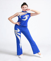 Adult Children Cheerleading Group Costumes Rave Festival Hip Hop Dance Costumes Kids Rave Clothes Drag Queen Costumes