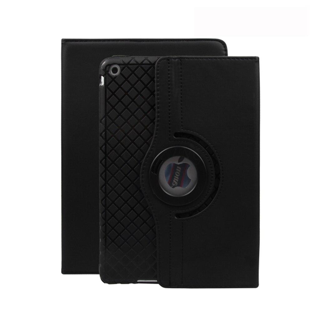 360 Rotation Premium PU Leather Soft Silicone Inner Shell Case For Ipad Mini 4 Smart Auto Sleep Wake Up Cover
