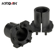 2Pcs Car H7 For HID Xenon Bulbs Installation Socket Adapter Holder For Mazda 3/5/6/MX-5/CX-7/RX-8 04-11 For HID Bulb Adapter