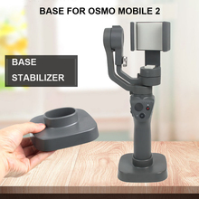 base for osmo mobile 2 mini sports camera desk stand holder action video handgrip stabilizer 1/4 screw Anti-sway gimbal