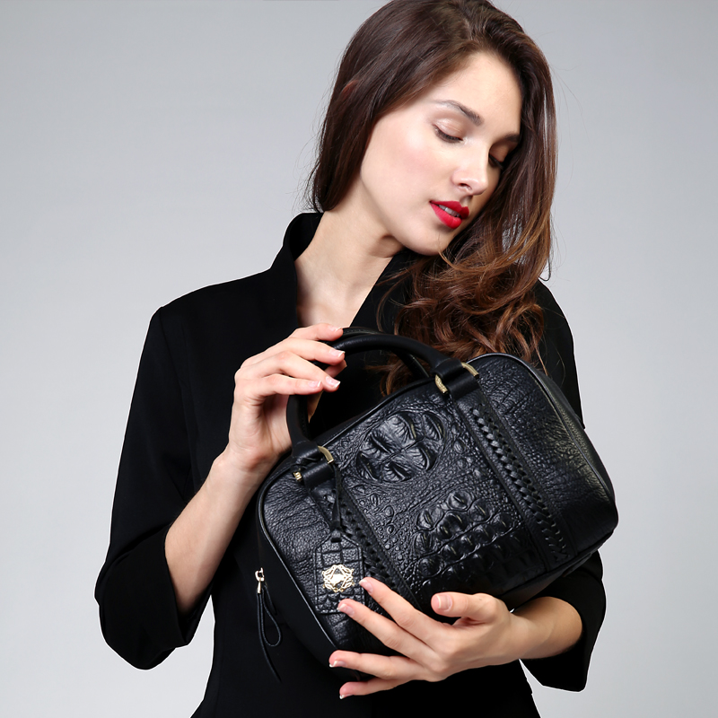 ZOOLER 2017 New Top-quality Cowhide leather bag Woman handbag ladies luxury elegant handbags OL lady Women bag New arrival#8139