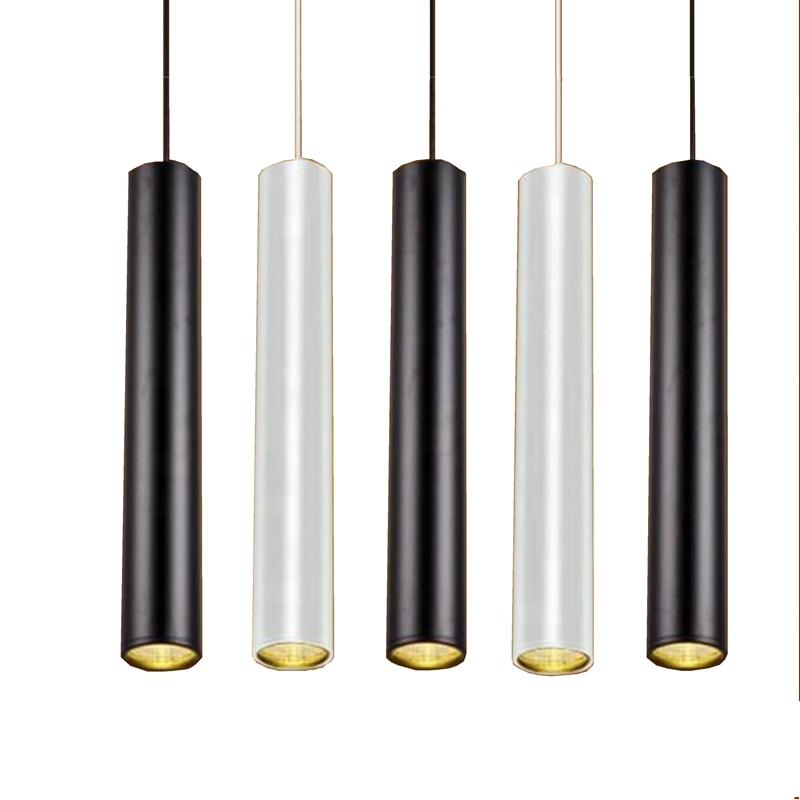 LukLoy Tube Pendant Lights LED Kitchen Lights LED Lamp Bedside Hanging Spot Lamp Ceiling Lamps Bedroom Living Room Down Light