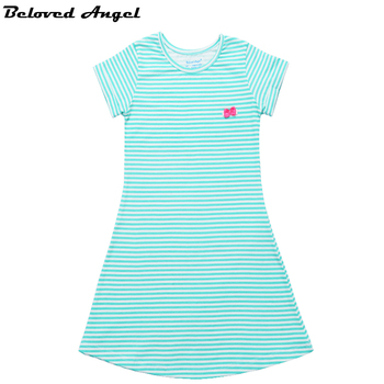 2019 New Baby Girls Summer Dress Kids Clothes Girls Dress Children Clothing Sweet Princess Party Wear Teens Girl Dresses 1-13Yrs