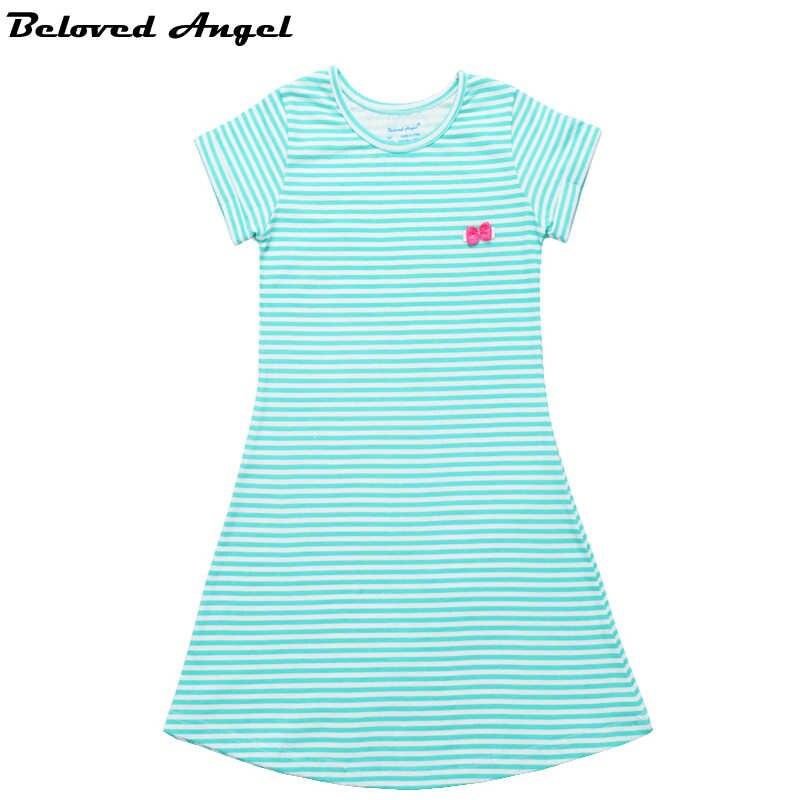 f83909cfe 2019 New Baby Girls Summer Dress Kids Clothes Girls Dress Children Clothing  Sweet Princess Party Wear