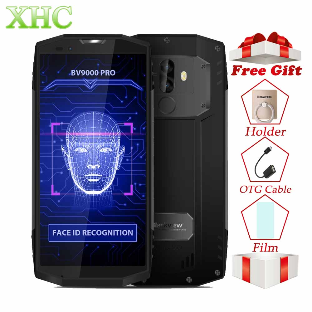 Blackview BV9000 Pro 4G Smartphones 6GB+128GB 5.7 18:9 HD Full Screen Octa Core IP68 Waterproof 8MP+13MP Dual SIM Mobile Phones