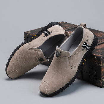 Summer Breathable Canvas Shoes Men Shoes Casual Slip on Loafers Men Driving Shoes Comfortable Sneakers Black Grey Kahaki