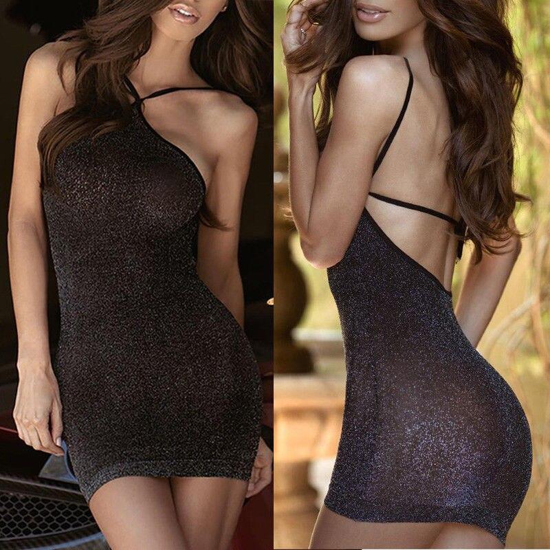 Neuheiten Und Spezialanwendung Konstruktiv Thefound Mode Frauen Sexy Verband Bodycon Ärmellose Clubwear Party Mini Kleid Exotische Kleidung