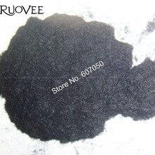 50 грамм x 3D абсолютно черный бархатный порошок для украшения ногтей и других блестящих поделок