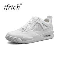 2018 Air Sneakers Men Running Shoes Spring Summer Jogging Trendy Shoes Men White Red Walking Sneaker