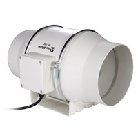 Hon Guan 6inch New Ventilation System Mixed Flow In Line Duct Fan HF 150P 110 220V