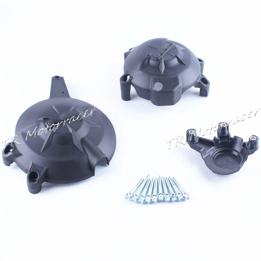 Engine Stator Crank Case Cover For Kawasaki ER6F ER6N ER-6F ER-6N 2006-2016 2008 2009 2010 13 14 2015 New Accessories
