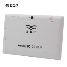 BDF Tablet 7 Inch Android 4.4 Kids Tablet Pc Dual Camera 512M+8GB Quad Core Children Education Games WiFi Kids Tablet Android