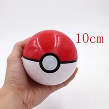 New 9 Styles 10CM Anime Pokeball Figures ABS Action Figures Plastic Ball Toys Super Master Children Toy Juguetes Hot Sale