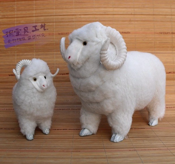 simulation sheep toy teaching model car decoration toy home decoration gift h1436