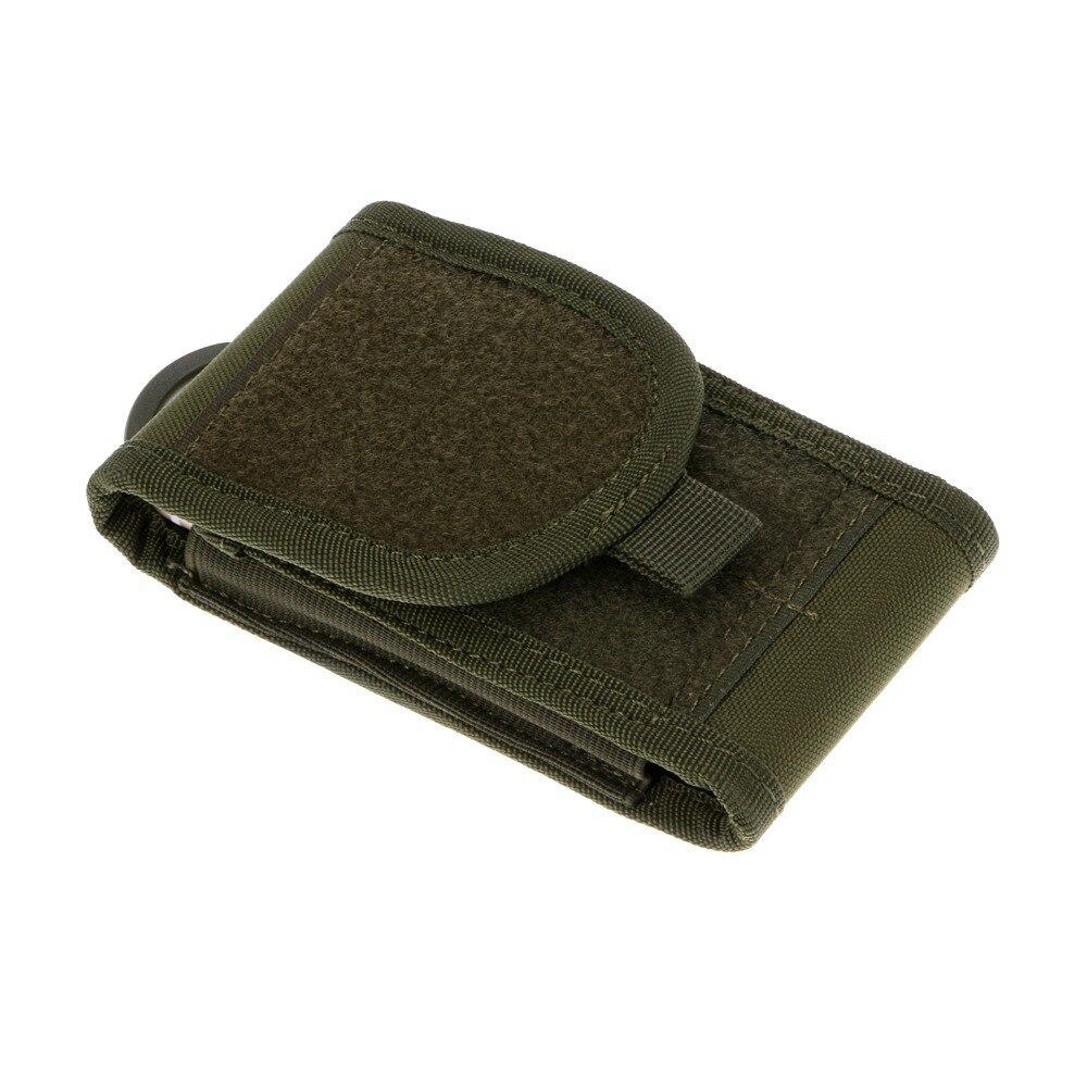 Prix pour 1 pcs Fshion Couleur Vert Armée Camo Sac Pour Smart Mobile Téléphone Crochet Boucle Ceinture Pochette Étui-GN