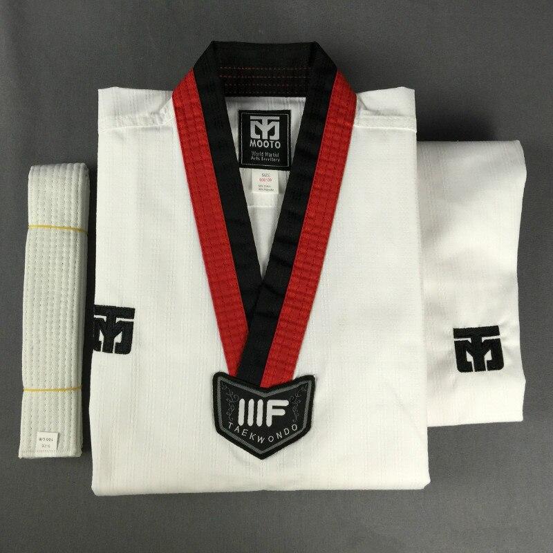 Mooto Uniforme de Taekwondo col v Femme