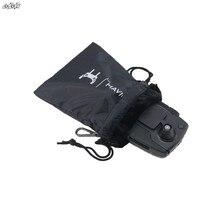 Удаленный Управление сумка для хранения Водонепроницаемый Мягкий рукав чехол с D пряжка крюк для dji Мавик Pro Air Spark Drone аксессуары