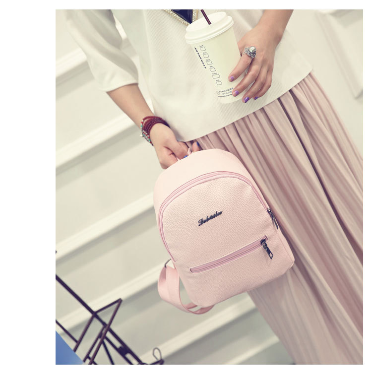 HTB1l.YMCrSYBuNjSspfq6AZCpXat 2019 New Backpack Summer Small Women Backpack Candy Color Student Travel Shoulder Bags Teenager Girls Female Mochila Bagpack