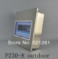 PZ30 Electrical Metal Power Distribution Box Switch Box Pz30 8 Outdoor Stainless Steel Box Flush Mount