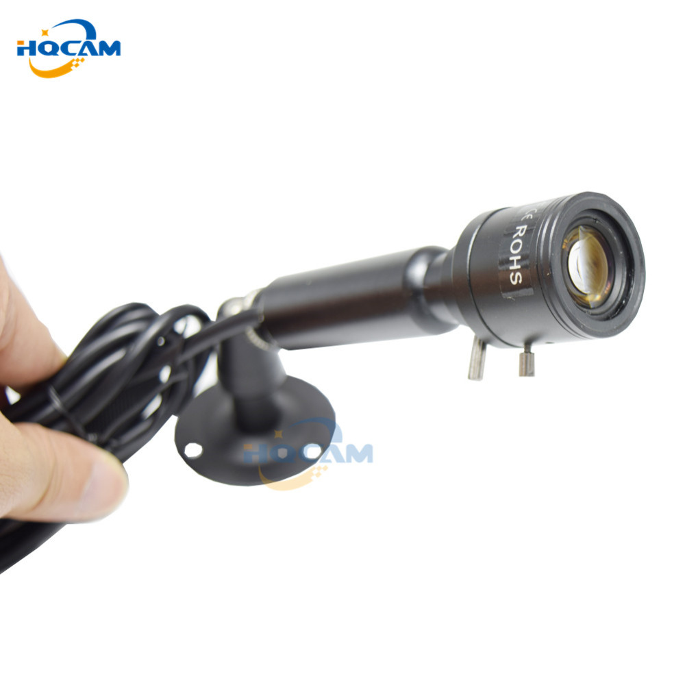 HQCAM SONY Effio-E 700TVL CCD OSD menu Mini Bullet Camera Indoor Security Camera 4140+810\811 9-22mm manual varifocal zoom len