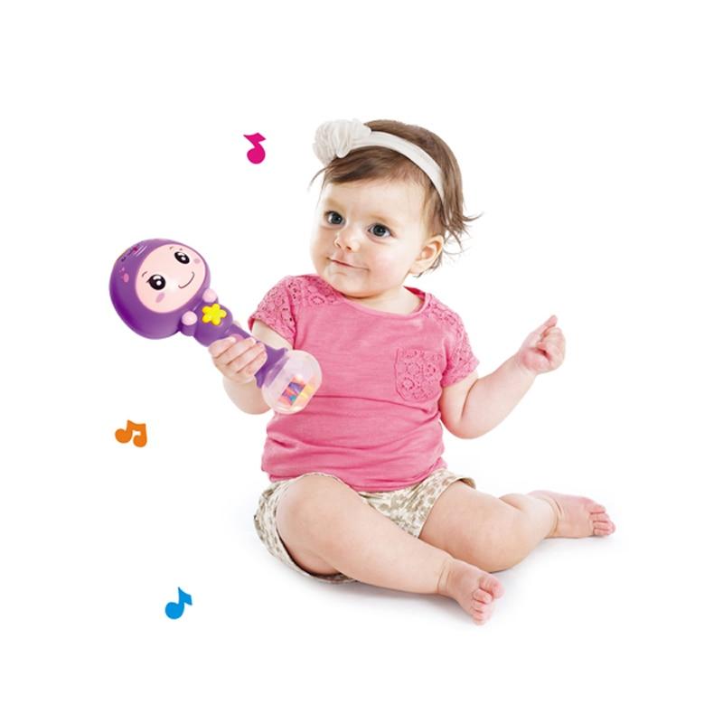 Kiváló minőségű 12 állatstílus 1 db baba színes műanyag - Csecsemőjátékok