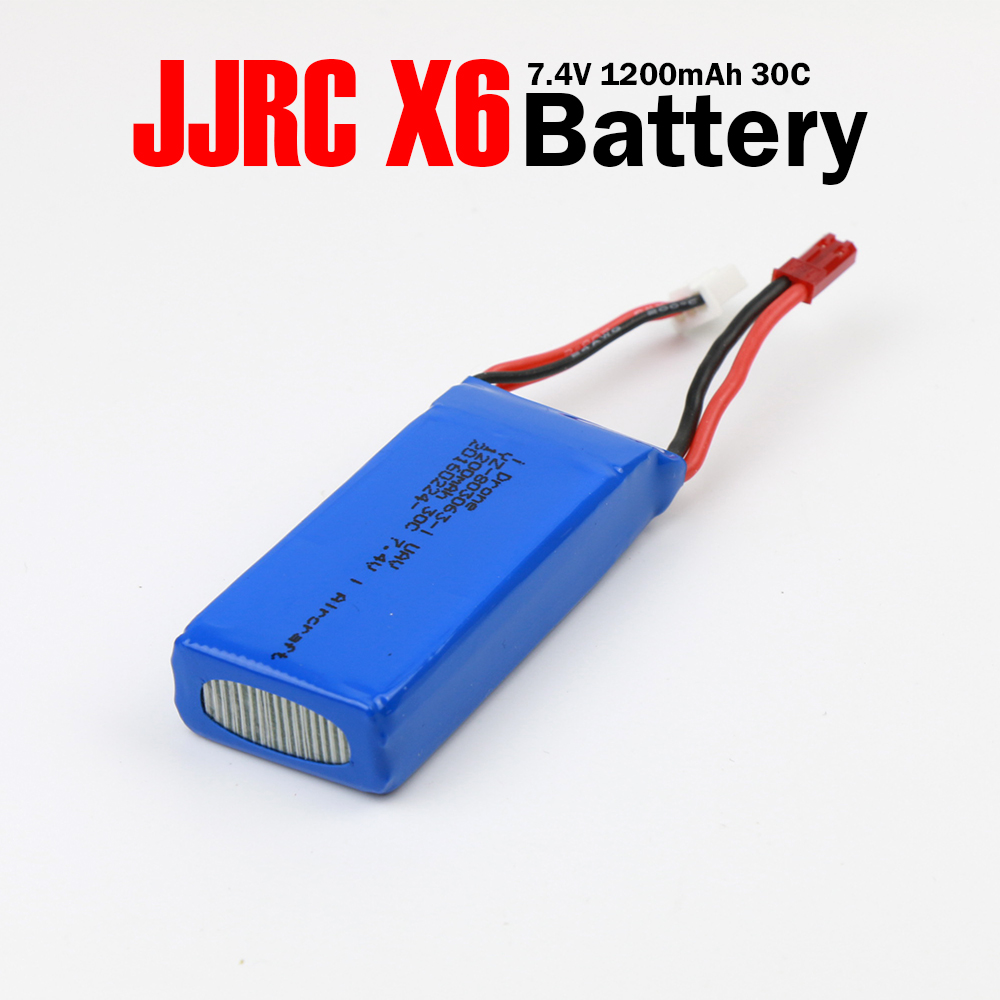 Yizhan Tarantula X6 Battery JJRC H16 RC Quadcopter Spare Part Accessory 7.4V 1200mAh Lipo Battery best deal rc quadcopter spare part 7 4v 500mah battery rechargeable lipo battery for jjrc h8c h8d dfd f183 rc quadcopter part