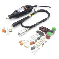 High Quality DREMEL Mini Grinder DIY Electric Hand Drill Machine With Soft Shaft 105pcs DIY Gift