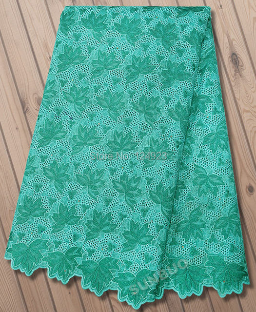5 Yards Lurex embroidered Swiss organza lace fabric African handcut organza  lace with lots of holes