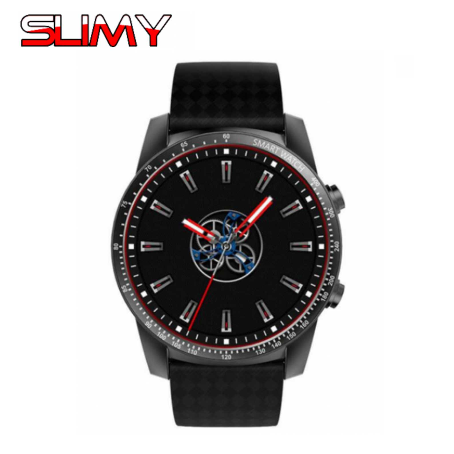 Slimy Android 5.1 Heart Rate Smart Watch  KW99 MTK6580 Support 3G WIFI GPS Nano SIM Card Smartwatch with 400*400 Wristwatch vecdory android smart watch gps watch android wear smart watches 3g wifi 512m 4g bluetooth smartwatch sim support 32g tf card