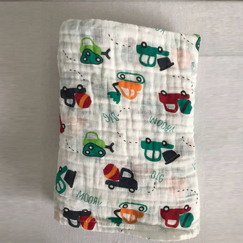 Newborn Baby Infant Kid Blanket Cartoon Cute Floral Soft Muslin Cotton Gauze Receiving Blankets Sleeping Blanket Wrap Bath Towel aibeile 2018 new high quality flannel baby blanket newborn super soft cartoon blankets 100 110 cm for beds thick warm kid