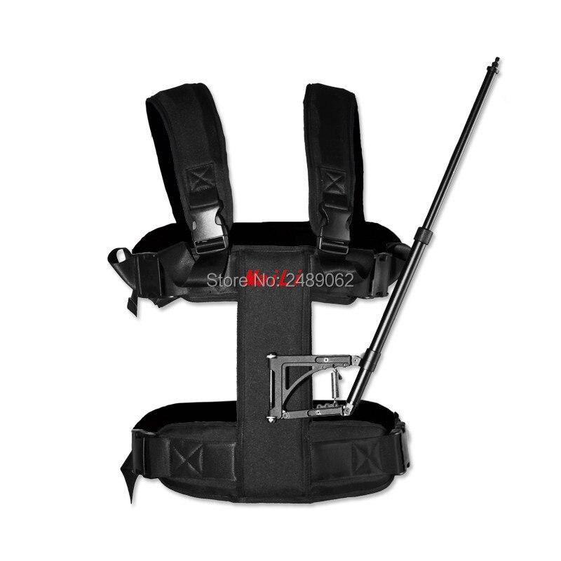 MAILI DSLR steadicam gilet stabilisateur de caméra de poche vidéo steadicam s40 countryycam pro caméra stable 5D2 movi réalisation de films