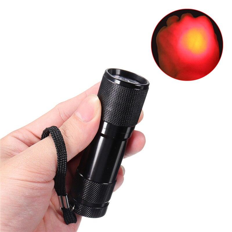 Image 4 - Transistor de luz LED roja portátil con imagen de vena  infrarroja, unidad pediátrica, médicos, enfermeros, buscador de venas,  herramientas de equipo médicoAccesorios de iluminación portátiles   -