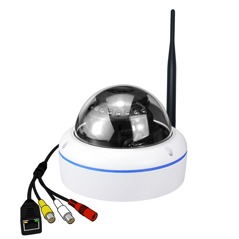 Camhi Audio Mini P2P Plug and Play Easy view HD 720P MegaPixel WIFI Wireless IP CCTV Dome Camera with IR CUT and night visionCamhi Audio Mini P2P Plug and Play Easy view HD 720P MegaPixel WIFI Wireless IP CCTV Dome Camera with IR CUT and night vision